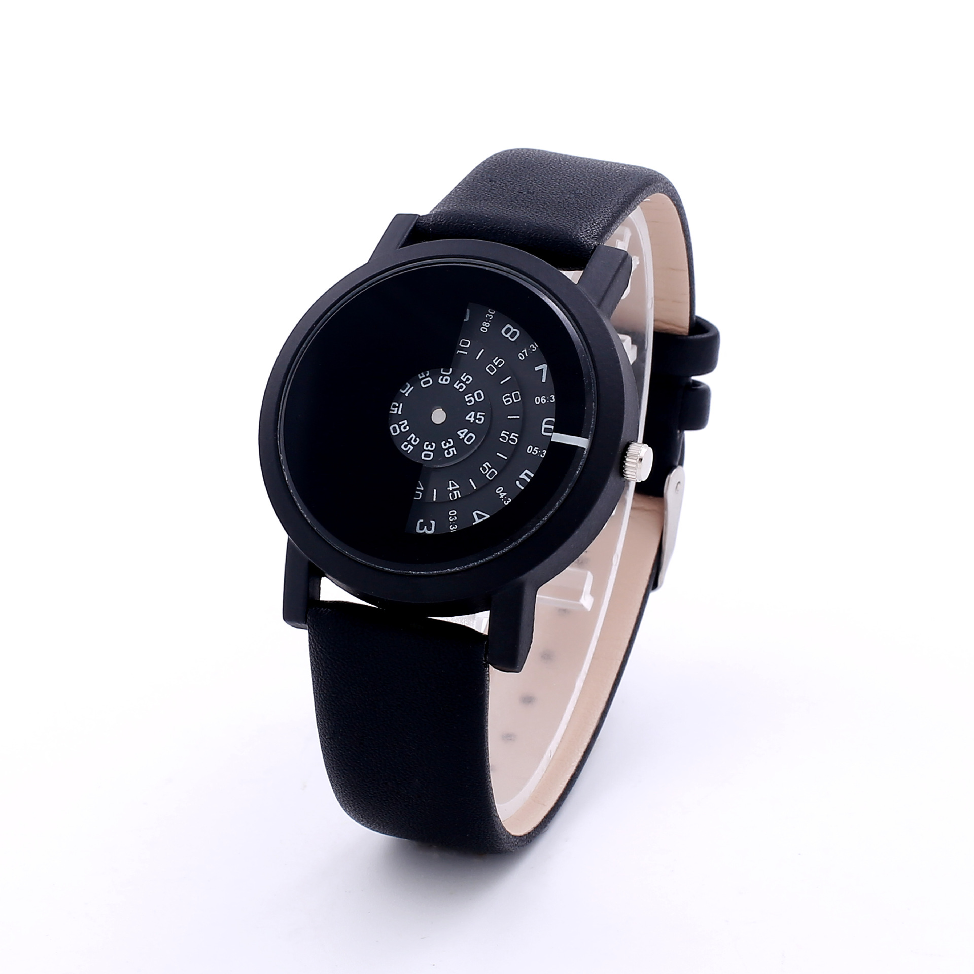 gallery normal pop karl watch strap spiked accessories unisex lagerfeld black rubber product lyst watches