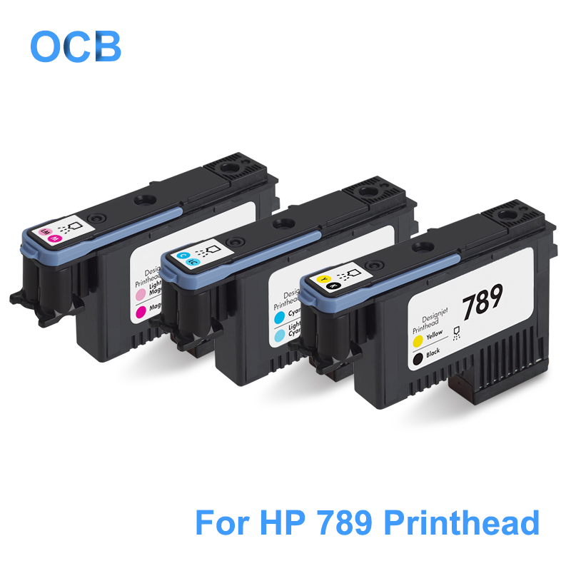 For <font><b>HP</b></font> 789 <font><b>DesignJet</b></font> Printhead CH612A CH613A CH614A Print Head Compatible For <font><b>HP</b></font> <font><b>DesignJet</b></font> <font><b>L25500</b></font> Printer Head (BK/Y C/LC M/LM) image