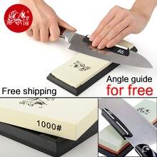 TAIDEA 1000 # Schärfen Stein Für Messer 1000 Grit Messer spitzer Superfeinen weißen korund schleifstein winkel führung kostenlos