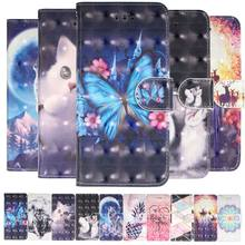 Colorful 3D Phone Bags sFor Samsung Galaxy A10 A2 Core A20 A30 A40 A40S A50 A60 A70 A80 A90 M10 M20 M30 J2 J4 Prime J6 Plus D16F(China)