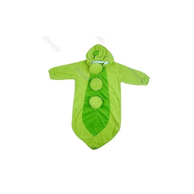 Baby Parisarc Blanket Cute Bean Pea Pod Baby Infant Warm Swaddle Wrap Swaddling Sleeping Bag Baby Sleepsacks