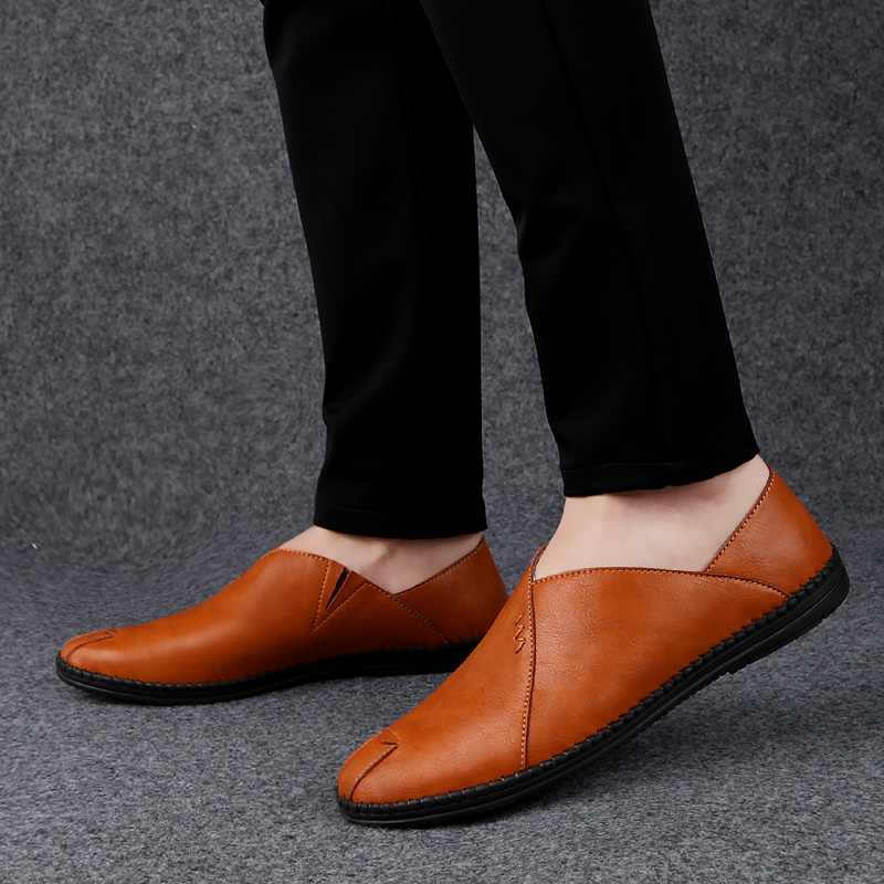 Mens Leather Shoes Casual Slip-On Autumn Fashion for Men Designer Breathable Comfortable Mens Shoes Zapatos Sapato HombreMens Leather Shoes Casual Slip-On Autumn Fashion for Men Designer Breathable Comfortable Mens Shoes Zapatos Sapato Hombre