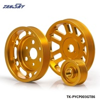 PIVOT For Toyota GT86 Subaru BRZ Scion FRS Light Weight Crank Pulley Power Steering EP PYCP003GT86
