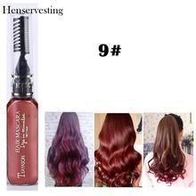 13 Colors Temporary Hair Dye Cream Non-toxic DIY Hair Color One Time Creme Para Cabelo Hair Wax Blue Grey Purple