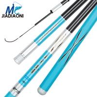 JIADIAONI 3.6m 7.2m 28 tune fish gongzhan Carbom Long Taiwan Fishing Rod Telescopic Fly Carp Fishing Pole Fishing Tackle
