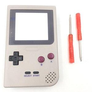 Image 3 - Için DMG 01 Sınırlı Sayıda Gri Tam Konut Shell Düğmeler Mod Onarım Nintendo Game Boy Cep GBP