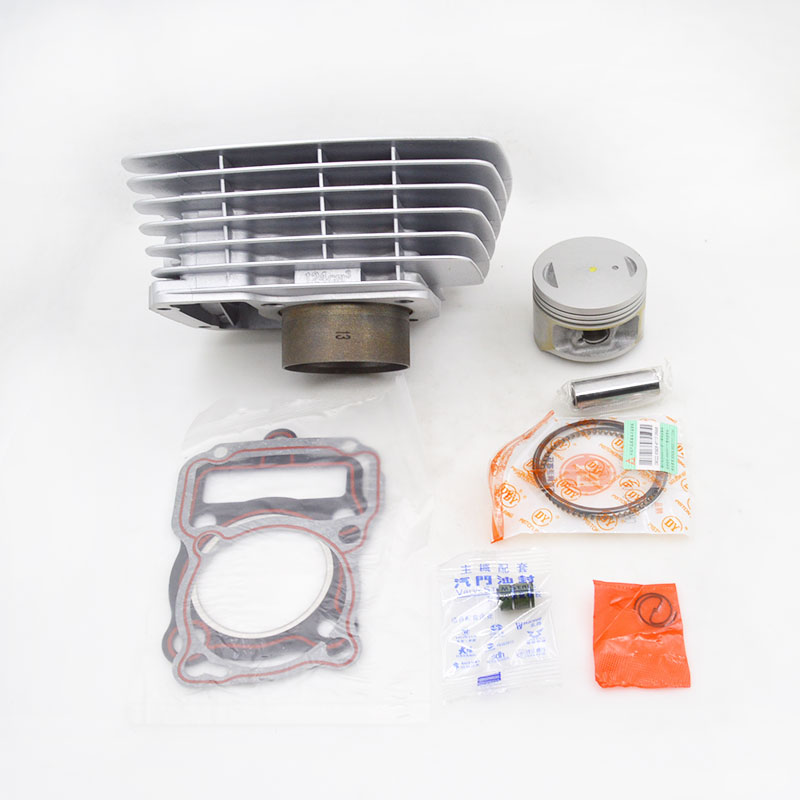 High Quality Motorcycle Cylinder Kit For Zongshen PIAGGIO PZ125 BYQ125-5 BYQ125-2 BYQ125-3 BYQ125-55 BYQ125-55 Engine Parts high quality motorcycle cylinder kit for