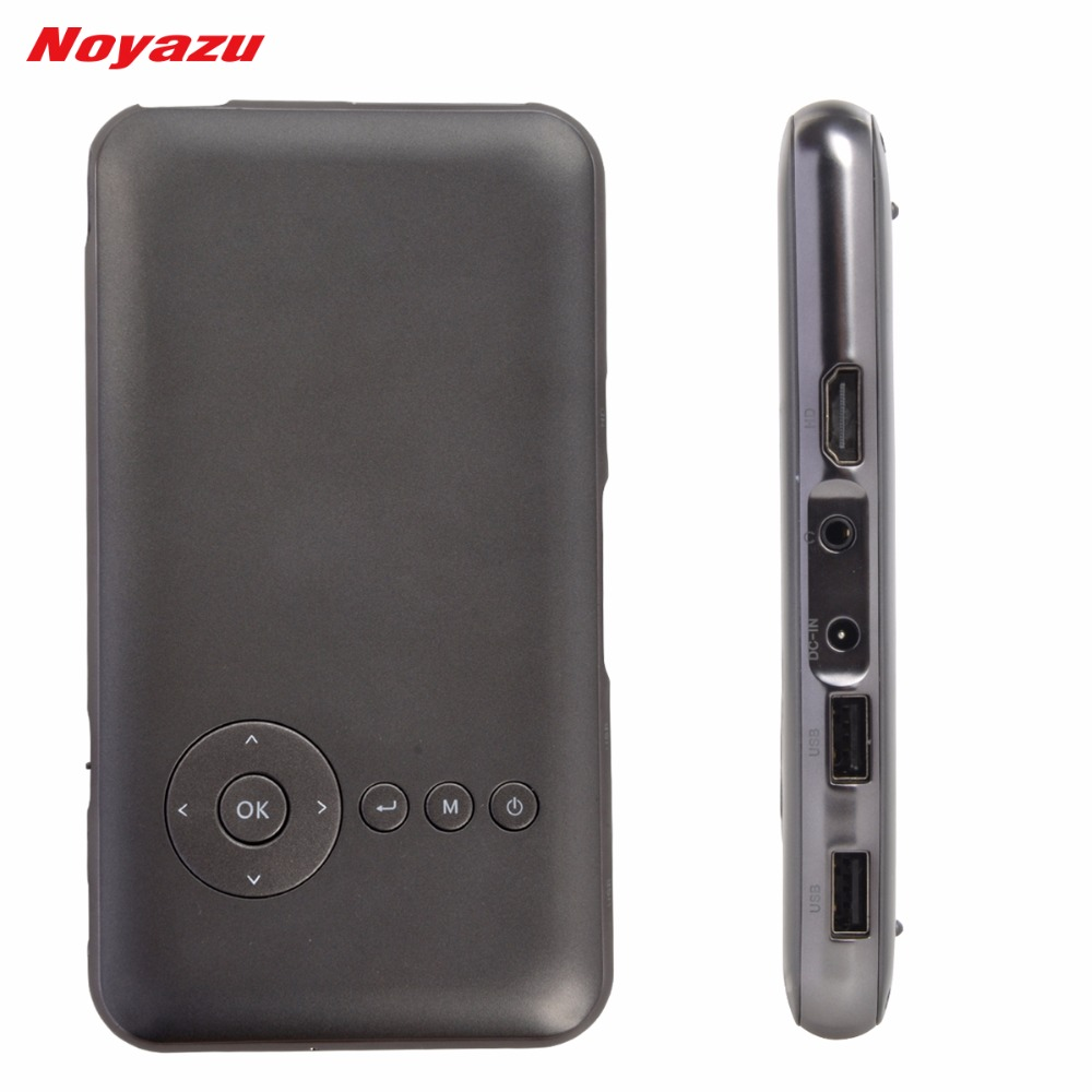NOYAZU Original 32G HDMI IN Digital Video Projector Pico Beamer Proyector 5000mAh Android 4 4 Portable