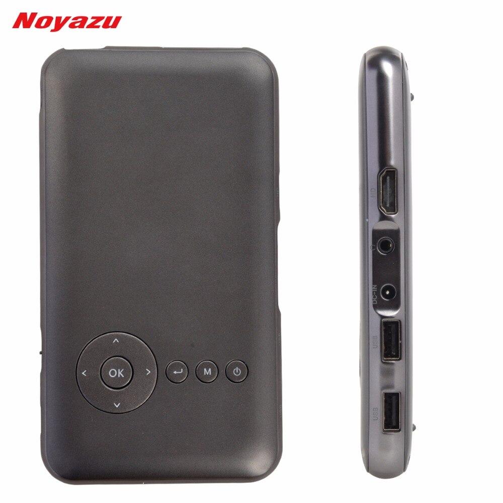NOYAZU Original 32G HDMI IN Digital Video Projector Pico Beamer Proyector 5000mAh Android 4 4 Portable