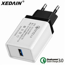 5V 3.5A Quick Charge 3.0 USB Fast Charger EU/US QC3.0 USB Wall Charger Adapter Phone Chargers for iphone X Xiaomi Samsung Huawei(China)