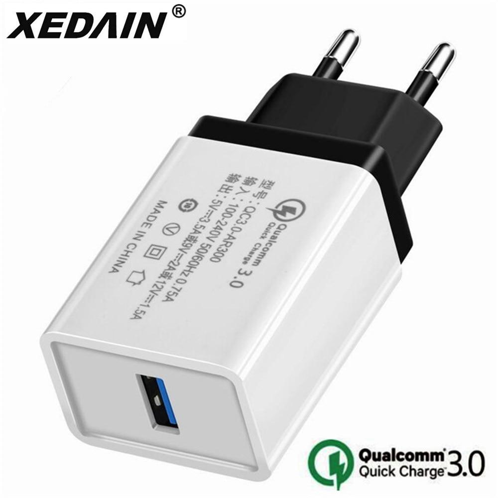 5V 3.5A Charge rapide 3.0 USB chargeur rapide EU/US QC3.0 USB chargeur mural adaptateur chargeurs de téléphone pour iphone X Xiaomi Samsung Huawei