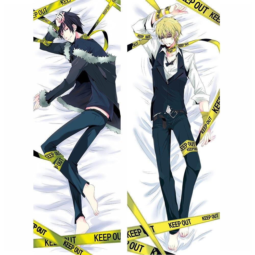 Japanese Anime Dakimakura DuRaRaRa!! DRRR Shizuo & Izaya Male Throw Pillow Cover Case Hugging Body BL Stomize Decorative Cushion