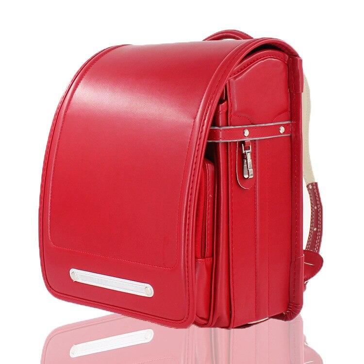 Child Randoseru Fashion School Bags for Boy and Girls Children Backpack Japanese Student BookBag Kids Large Primary Schoolbag hoodie