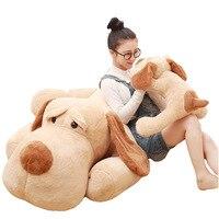 2018 мода Огромный Giant 150 см собака большая длинными ушками плюшевые мягкие игрушки куклы Животные Kawaii для девочек Детский подарок на день рож