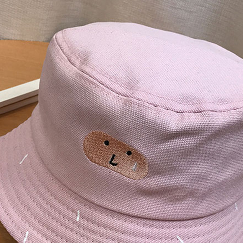 6c68ee4b41e New Funny Bucket Hat Cactus Women Sun Hat Cute Kawaii Embroidery Beach  Girls Sun Hat Chic Yellow Bucket Hat Girls-in Bucket Hats from Apparel  Accessories on ...