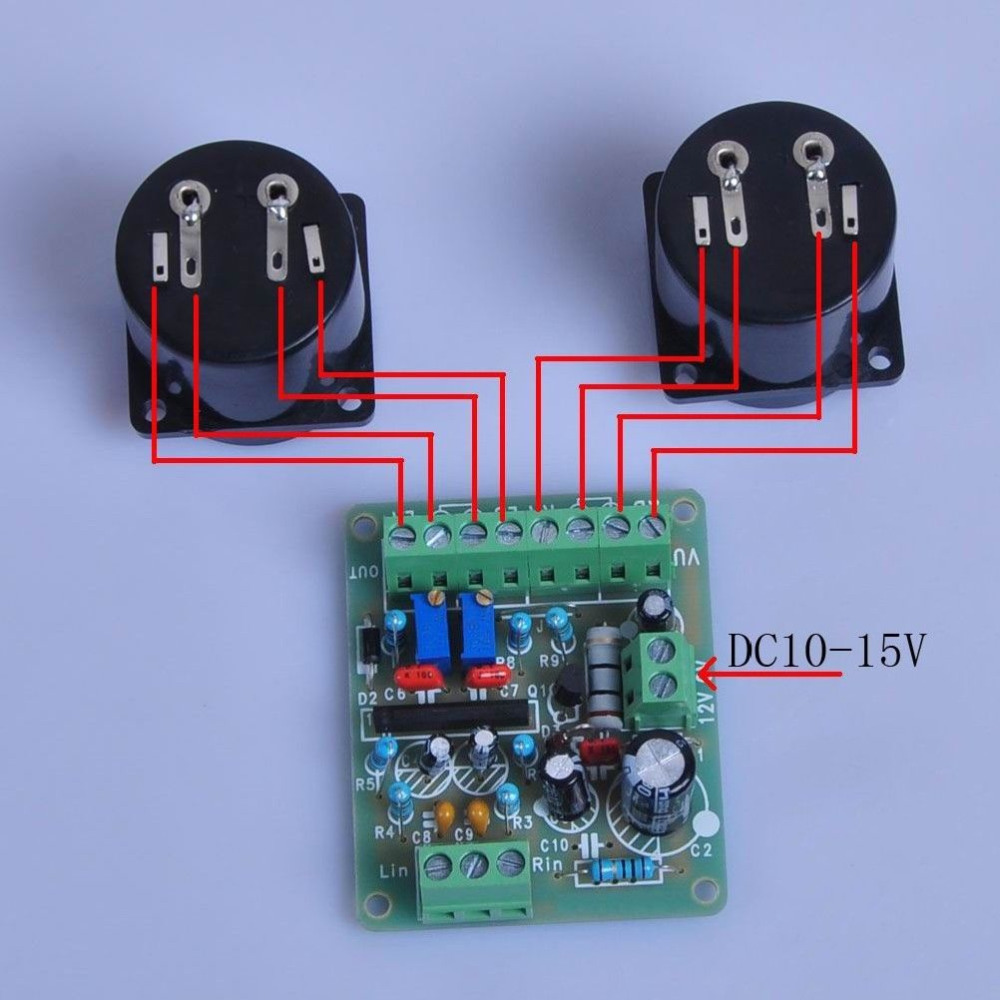 Dc 12v Power Amplifier Vu Meter Driver Board Db Audio Level Band Graphic Equalizer Circuit Together With Rf For Ta7318p Supply In Ac Adapters From Consumer Electronics On