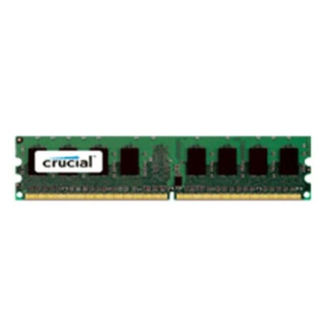 Crucial 4 GB DDR3 PC3-12800, 4 GB, 1x4 GB, DDR3, 1600 MHz, DIMM 240 broches