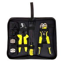 купить Meterk 4 In 1 multi tools Pliers Wire Crimper Engineering Ratcheting Terminal Wire crimping Tool + Wire Stripper+ S2 Screwdriver дешево