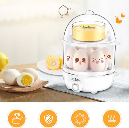 egg cooker automatic Egg boiler household mini multi function breakfast machine steamed chicken egg custard egg|Egg Boilers| |  - title=