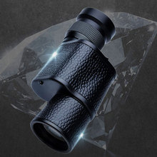 лучшая цена baigish 8x30 Monocular Telescope Night Vision binoculars High Quality Military Mini handle portable Sports Hunting Concert Scope
