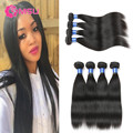 VIP Beauty Hair Style Cambodian Straight Virgin Hair 4 Bundles 7A Grade Unprocessed Ali Julia Cambodian Hair Extensions Soft