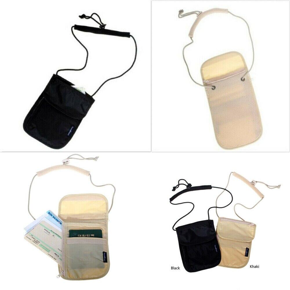 2019 Newest Style Security Travel Body Wallet  Holder Neck Shoulder Document Bag Case Hot