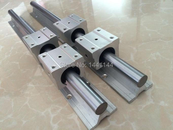 SBR20 linear guide rail: 2pcs SBR20 - 1500mm/1200mm /300mm Linear Guide+12pcs SBR20UU block precise linear guide rail 1500mm aluminum linear guide rail