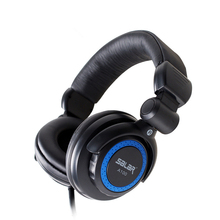 A100 Black Gaming Headphone Headset Professional Monitoring Headphones Stereo Earphone 3.5mm LED for PC