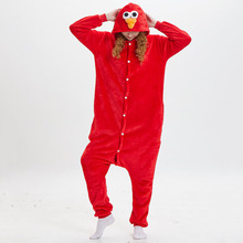 477475c11cbe Wholesale Animal Kigurumi Sesame Street Onesie Adult Unisex Cosplay Costume  Pajama Sleepwear For Men Women Pyjama