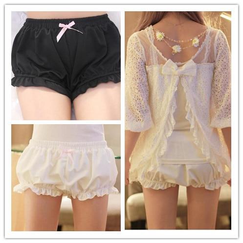 1 Piece Modal Kawaii Women's Soft Lolita Pumpkin Shorts Panty Cute Girl Ladies 2 Colors New