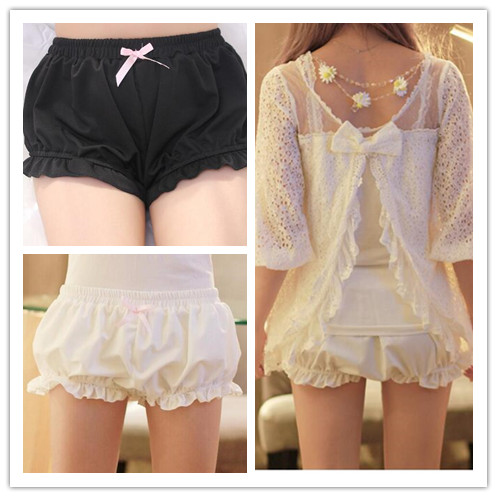 1 piece modal Kawaii Women's Soft Lolita Pumpkin   Shorts   Panty Cute Girl Ladies 2 Colors new