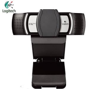 Image 3 - Logitech c930c 1920*1080 hd garle zeiss 렌즈 인증 웹캠, 4 시간 디지털 줌 지원 pc 용 공식 확인
