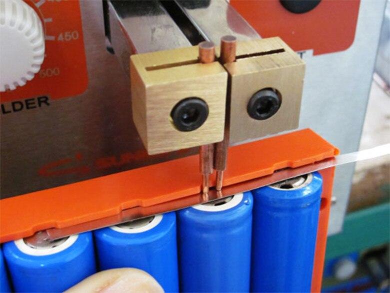18650 Battery Fixture Spot Welding Clamp Fixation Mold Holder 4 6 8 Section