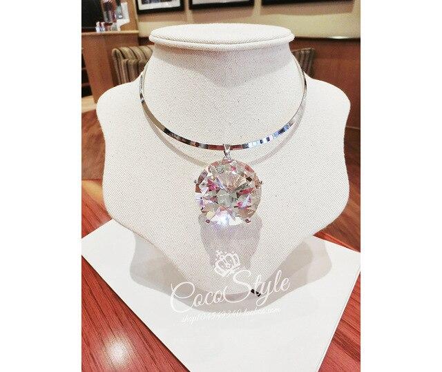 Canlyn jewelry large imitation gemstone shining choker statment canlyn jewelry large imitation gemstone shining choker statment necklaces pendants for women cx173 aloadofball Gallery