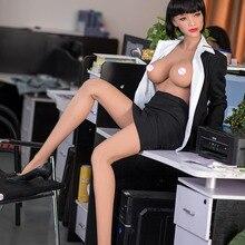 165 см японские силиконовые секс куклы аниме большая грудь секс кукла, Реалистичная полная тело секс-кукла для взрослых металлический скелет, Реалистичная Вагина Оральный