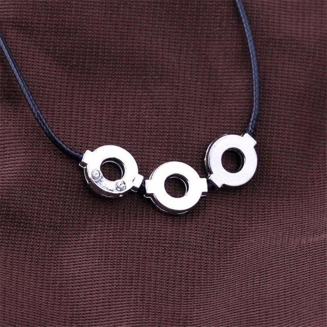Akatsuki Uchiha Itachi Necklace Titanium Steel Pendant