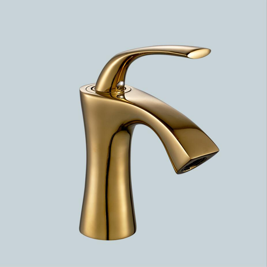 MTTUZK Free shipping Gold Faucet Oil Rubbed Bronze bathroom faucets ...