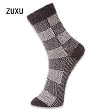 5 пар/лот высокое качество мужские шерстяные носки зимние кашемировые носки зима утолщение Термальность носки