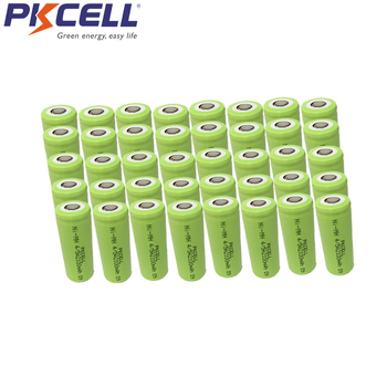 200 Uds 4/5A 1,2 V batería recargable 2100mah 17430 17400 4/5 A ni-mh nimh célula en tapa plana sin PCM en embalaje de pvc industrial