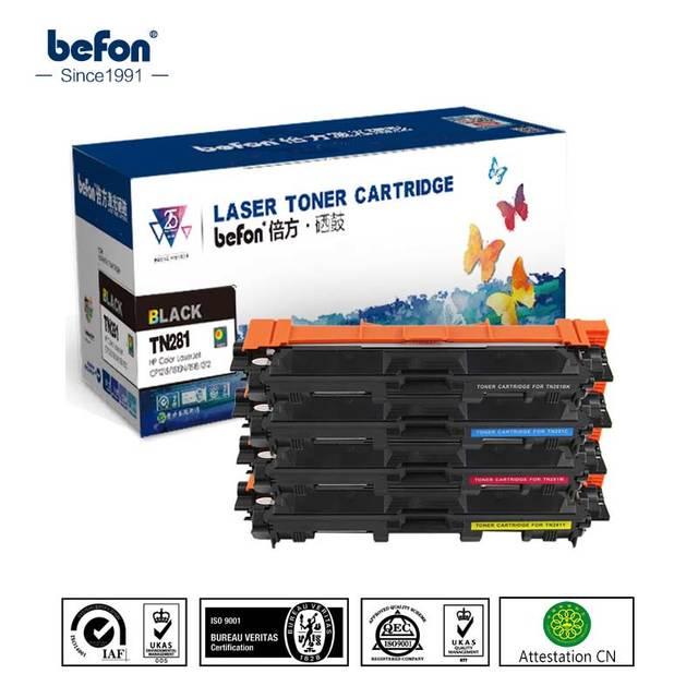 befon Color toner cartridge TN221 TN241 TN251 TN261 TN281 TN291 Compatible for Brother HL-3140CW 3150CDW 3170 MFC9130CW 9140CDN