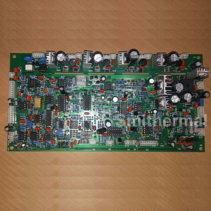 40KW 30-80 KHZ haute fréquence machine À Induction contrôle carte principale