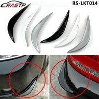 RASTP Universal Car Door Bumper Rubber Strip Anticollision Bar Arc Anti Scratch Protection Edge Fender Guard