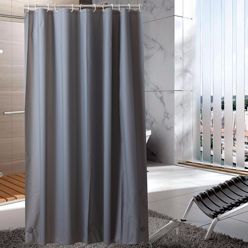 Shower Curtain LinerWaterproofOdorlessMildew Resistance Eco Friendly With Bottom Magnets And Metal Grommets In Curtains From Home Garden On