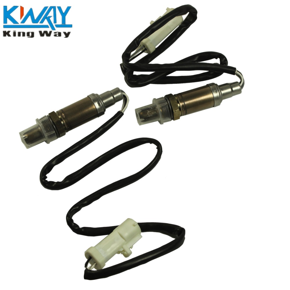 Set of 2 O2 Oxygen Sensor Pack Left or Right Side Downstream OR Upstream Truck