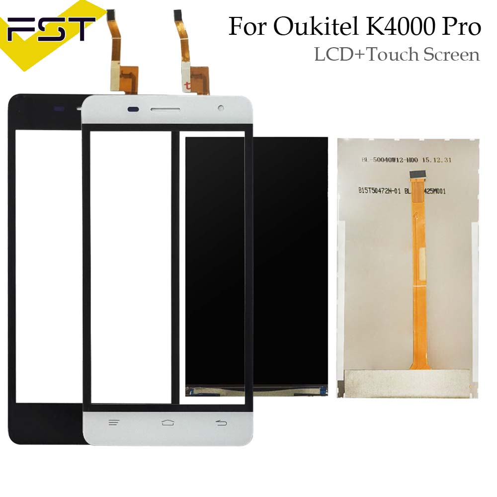 For Oukitel K4000 Pro LCD Display And Touch Screen Digitizer 100% Tested New Replacement K4000 Pro LCD + Tools
