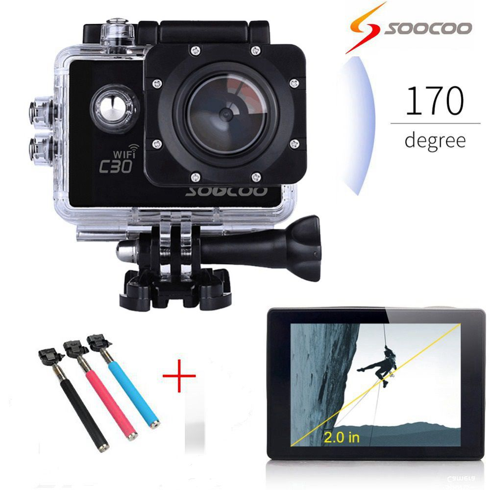 SOOCOO C K Gyro Ultra HD Wifi Action Camera  Degrees