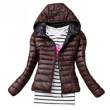 2018 New Women Cotton Jacket Hooded Women Coat Plus Size Thi