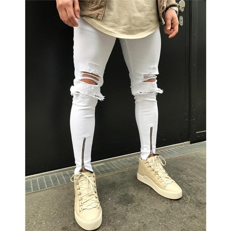 хип-хоп брюки; мужчины Жан; Длина: Полная Длина;