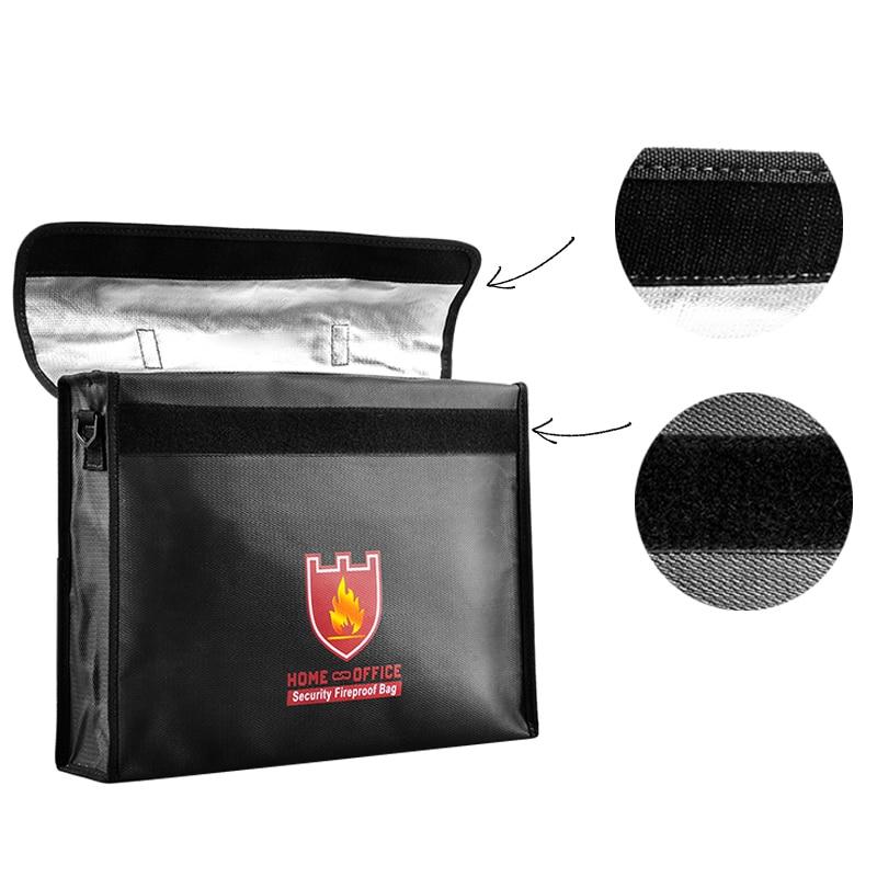где купить 1PCS 380*290*75mm Battery Safe Guard Anti Explosion Lipo Battery Safety Bag Security Fireproof Bags for RC Quadcopter Batteries по лучшей цене