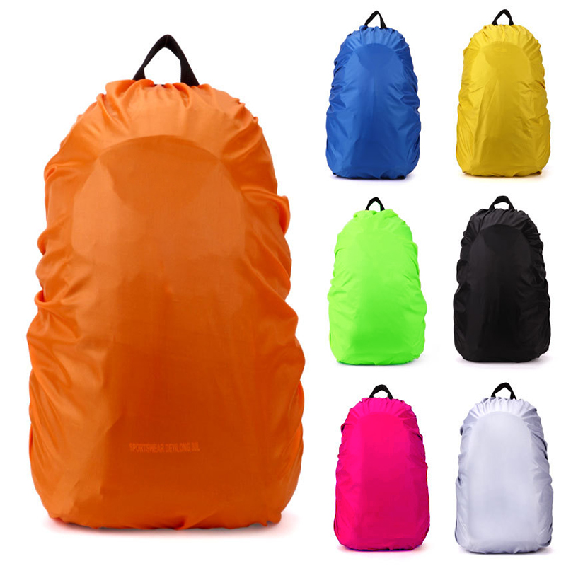 2019 Fashion Backpack Raincover 35l Strong Waterproof Pvc Raincover For Hiking Cycling Camping Luggage Bag Travel Kits Suit Sports & Entertainment Camping & Hiking